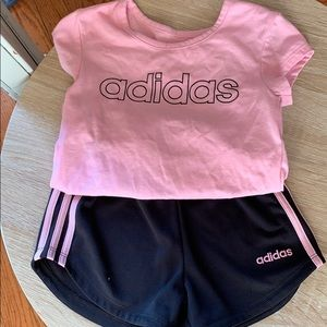 Toddler Girl Adidas Set *Buy 1 Get 2 Free*